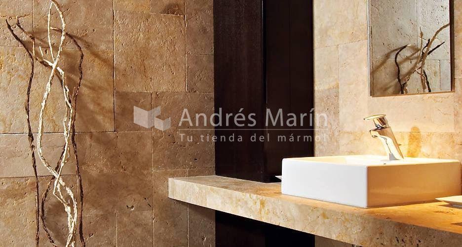 Travertino Crema Antares - Andrés Marin.